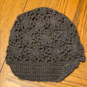 Pistil Gray Crochet Beanie